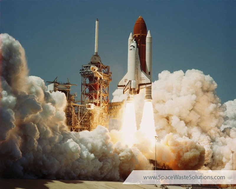 Space Shuttle Challenger Lanuch 1983